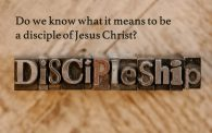 DISCIPLESHIP CLASS | November 3, 10, and 17 @ 9:00 am